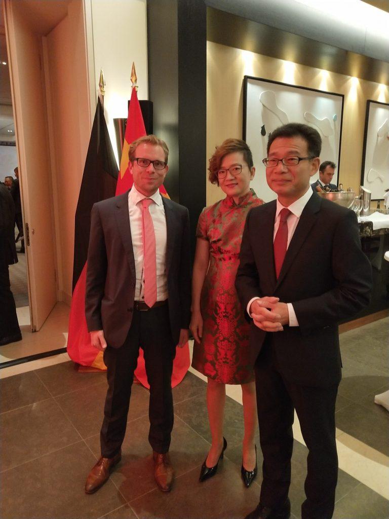 Fintiba meets the Consul General Wang Shunqing