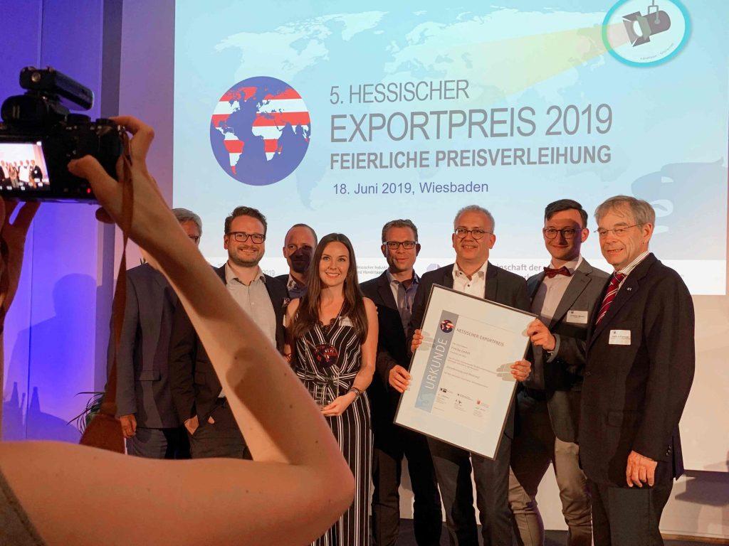 Fintiba wins Hessischer Exportpreis 2019