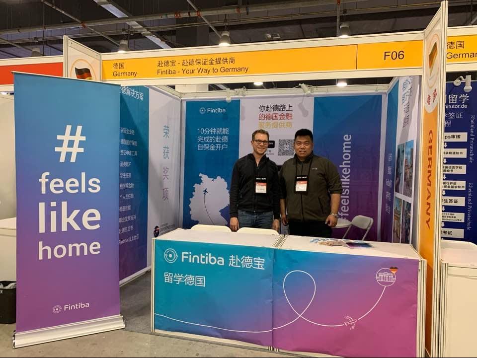 Fintiba in China: Education Expo 2019